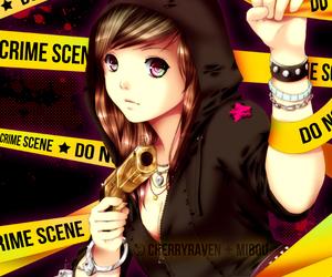 anime, drawing, and kawaii image