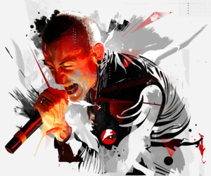 band, music, and linkin park image