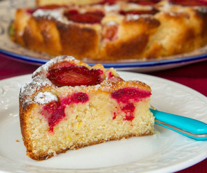 cake, plum, and Cinnamon image
