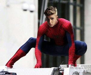 spiderman and justin bieber image