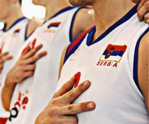 Serbia and volleyball image