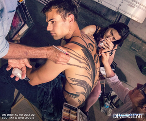 four, movie, and theo james image