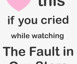 tfios, the fault in our stars, and cry image