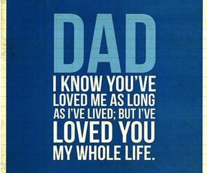 dad, love, and life image