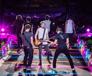 1d, harry, and niall image