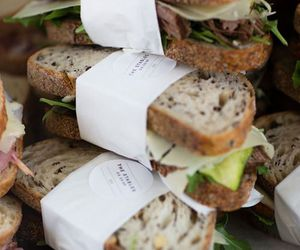 food, sandwich, and bread image