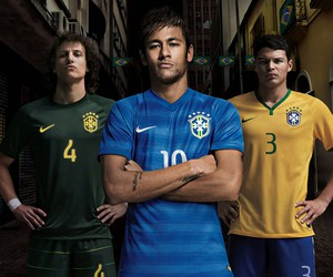 neymar, thiago silva, and david luiz image