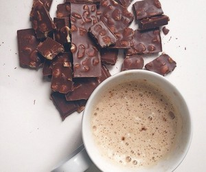 food, chocolate, and coffee image