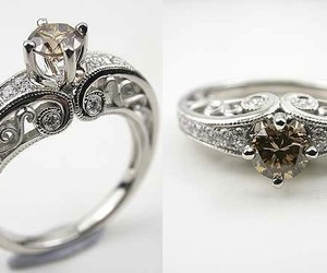 rings and engagement ring image