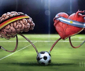 argentina, germany, and world cup image