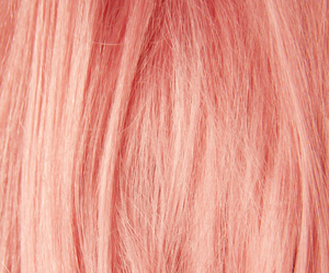 hair, peachy, and photography image