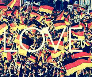 germany, flag, and world cup image