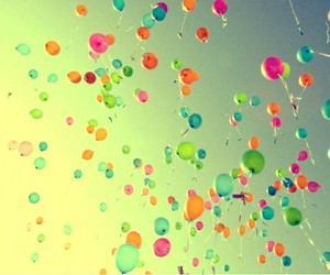baloons and colorful image