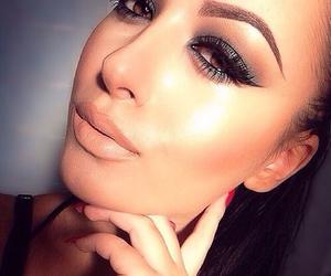 eyes, girly, and makeup image