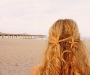 beach, blonde, and girly image