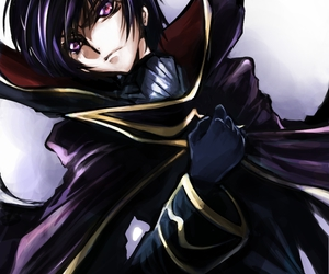 anime, code geass, and eyes image