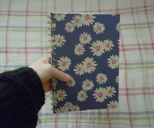 flowers, inspire, and notebook image