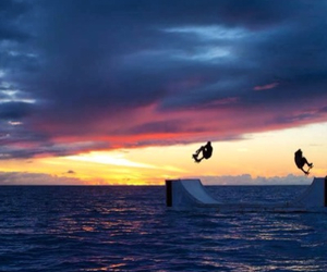 ocean, paradise, and sk8 image