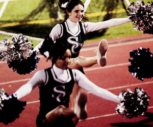 cheerleading, kendall jenner, and kylie jenner image
