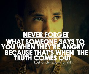 quote, truth, and tyga image