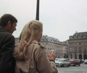 catherine deneuve, couple, and french image