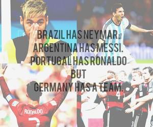 argentina, germany, and Ronaldo image
