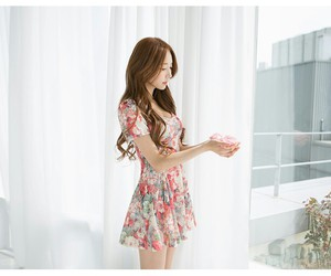 dress, ulzzang, and kfashion image