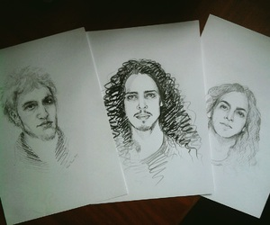 alice in chains, art, and awsome image