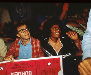 michael jackson and woody allen image