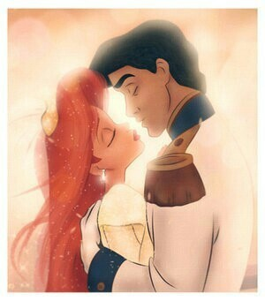couple, disney, and red image