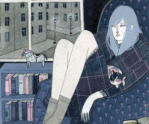 art, comfort, and rain image