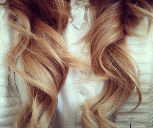 beauty, hair, and ombre image
