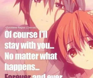 anime, clannad, and quotes image
