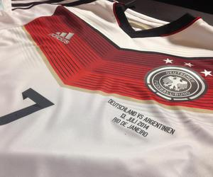football, germany, and love image