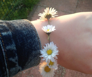 flowers, bracelet, and pretty image