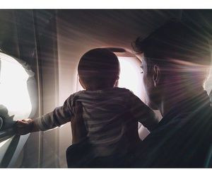 airplane, baby, and boy image
