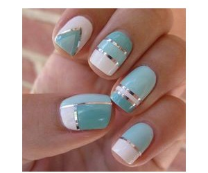 girl, nails, and pretty image