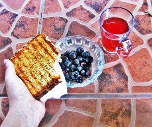 bread, breakfast, and health image