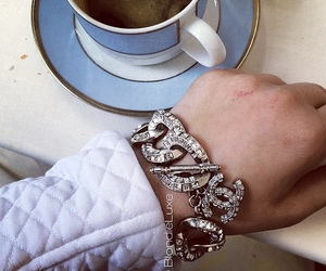 bracelet, chanel, and cute image