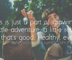 disney, growing up, and quotes image