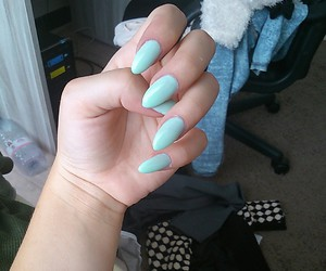 color, girls, and nailsdone image