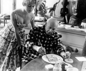brigitte bardot, Pablo Picasso, and picasso image