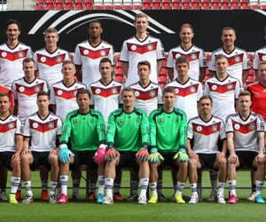 germany, team, and world cup image
