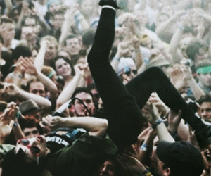 rock, concert, and grunge image