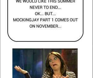 summer, the hunger games, and mockingjay image