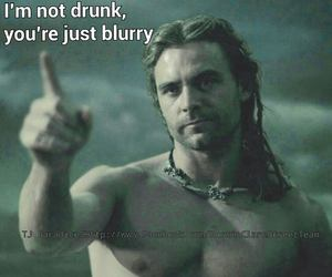 drunk, funny, and men image