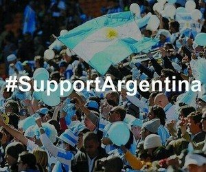 argentina, final, and world cup image