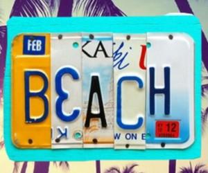 beach, playa, and ya image