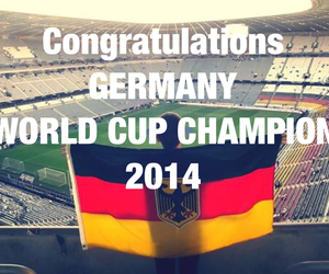 germany, world cup, and champion image