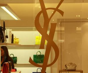 fashion, Yves Saint Laurent, and galeries lafayette image